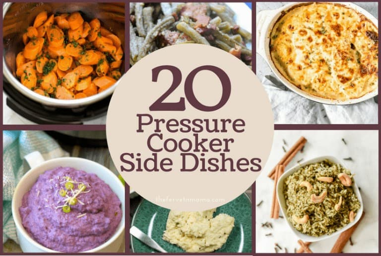20 Pressure Cooker Side Dishes
