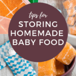 It doesn't matter if you're in a bind and need to make your own baby food to save money, or if you're just wanting to give your baby a more health-conscious option! Making your own baby food, and then storing homemade baby food isn't a hassle when you've got the right tools!#homemadebabyfood #pressurecookerrecipes