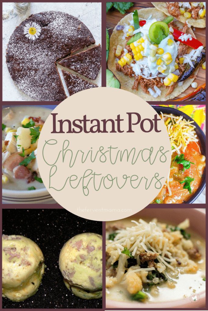 WOW your guests with these Instant Pot Christmas Leftovers! - THe Fervent Mama: You could just eat the Christmas leftovers again. But, Nah. It's 2018, And it's the perfect time to be