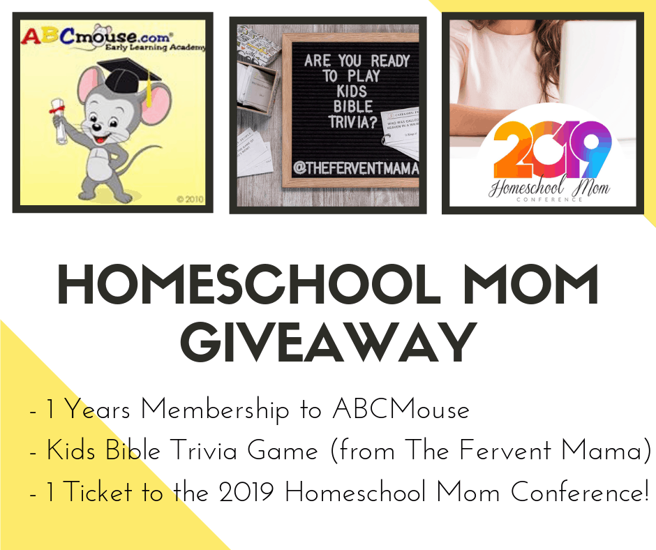 $900 of Homeschool FREEBIES/Deals + $99 extra Homeschool Giveaway! - The Fervent Mama: What would you do with $900 in homeschool freebies and deals? What if we upped the stakes? We're giving away some homeschool gold and that's it's crazy good homeschool giveaway worth $999!#abcmouse #2019homeschoolmomconference #bibletrivia