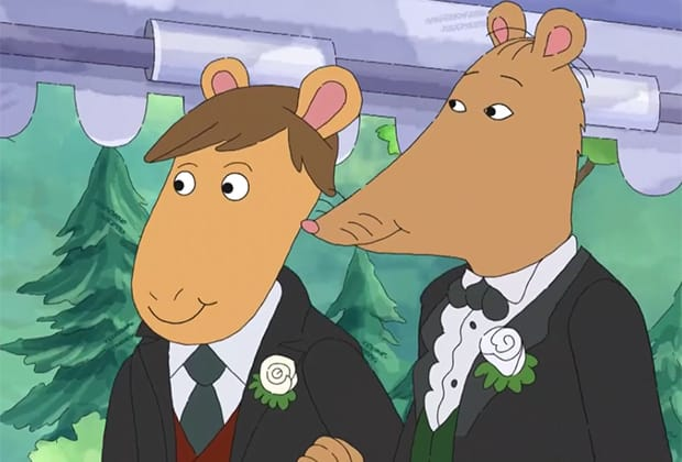 PBS pushes sexual orientation in new Arthur episode; Mr. Ratburn marries a man: The Fervent Mama - Over the past few years, it became even more clear that I had made the right decision when I noticed that PBS was throwing little insinuations and comments about LGBTQ issues into their shows and commercials.