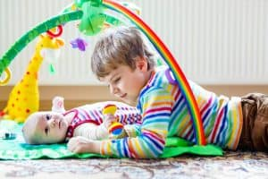 Strengthening Sibling Relationships with a New Baby: The Fervent Mama - While worrying about having everything in place, all the new baby stuff ordered, and the house in tip-top shape, there is something else to consider that takes place much earlier than baby's due date. I'd like to share 3 tips for strengthening sibling relationships with a new baby, and hopefully give you some ideas to consider with your next bundle of joy.