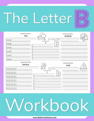 Write the Letter B Pack
