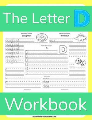 Write the Letter D Pack