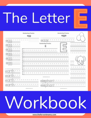 Write the Letter E Pack