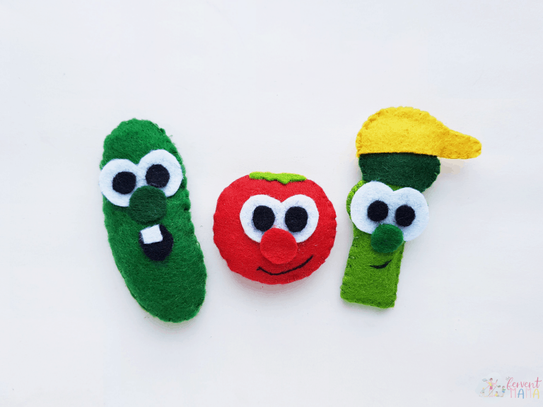 DIY VeggieTales Crafts for Kids (VeggieTales Plushies)