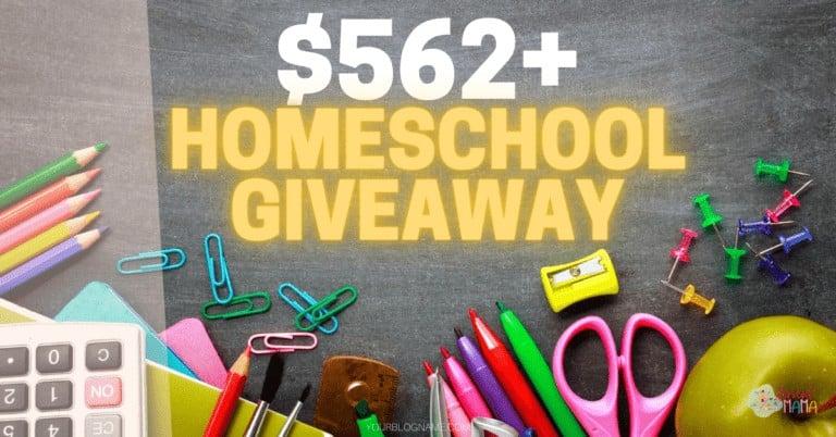 How We Homeschool Bundle Giveaway #1