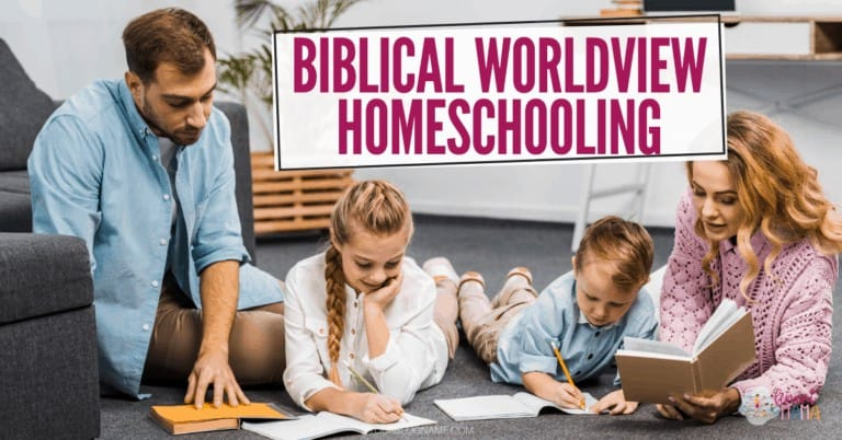 Why Biblical Worldview Homeschooling is Important for Christians