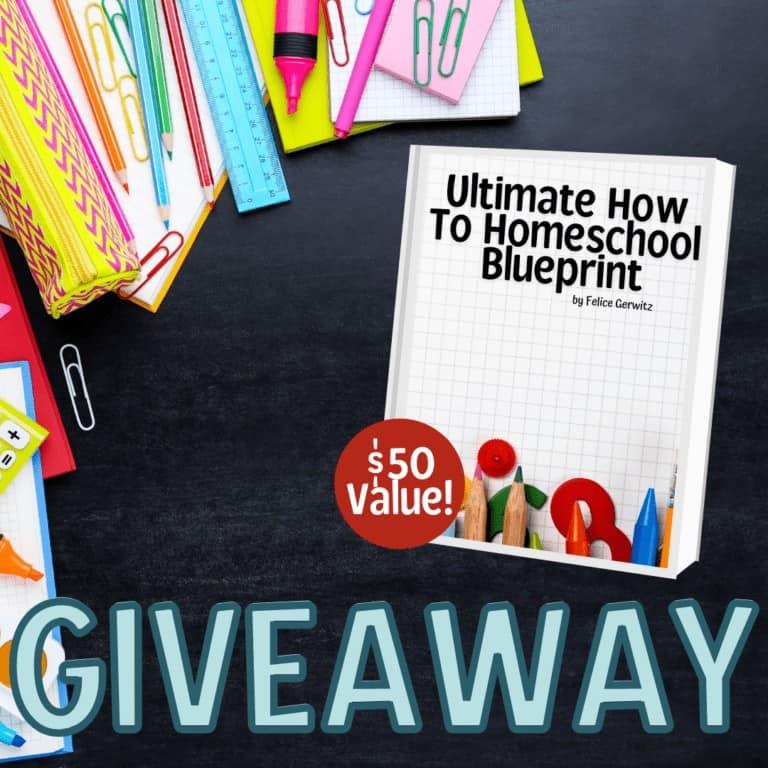 How To Homeschool Blueprint Giveaway – Media Angels