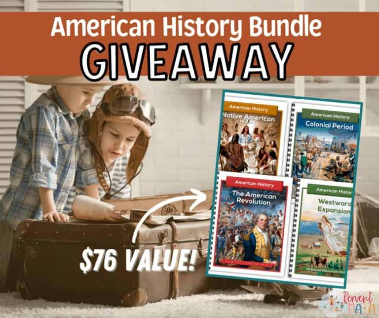 American History Bundle Giveaway- Kirkwood Education