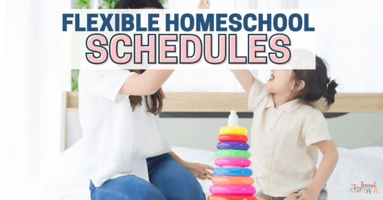 Flexible Homeschooling that Keeps you From Burnout