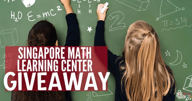 How We Homeschool Singapore Math Learning Center Giveaway
