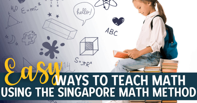 Teaching Abstract Concepts with the Singapore Math Learning Method