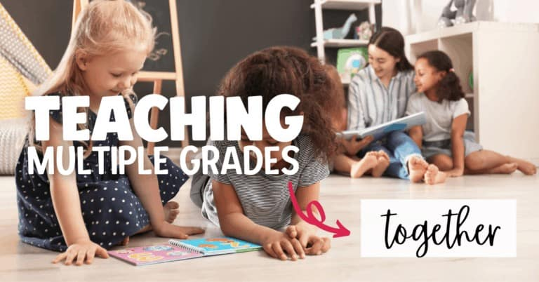 Tips for Teaching Multiple Grades Together