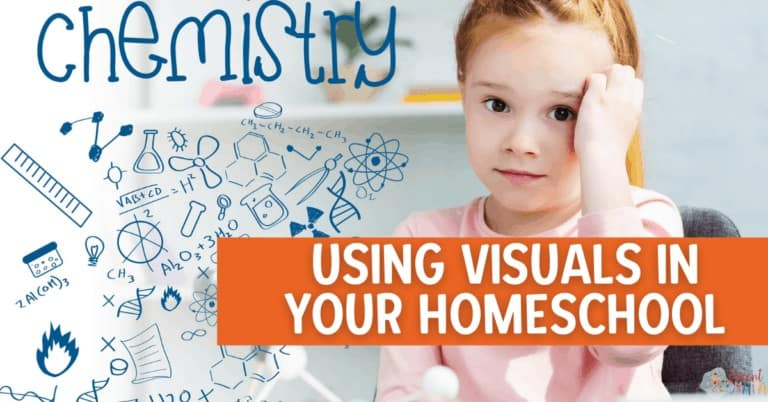3 Reasons Why You Should be Using Visuals in Your Homeschool