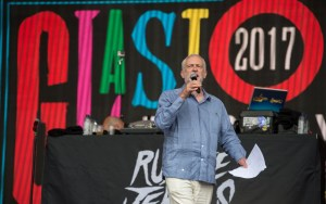 Labour music festival with Jeremy Corbyn