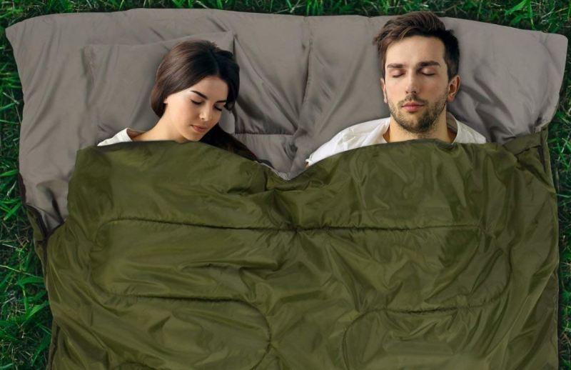 Best double sleeping bag for festivals