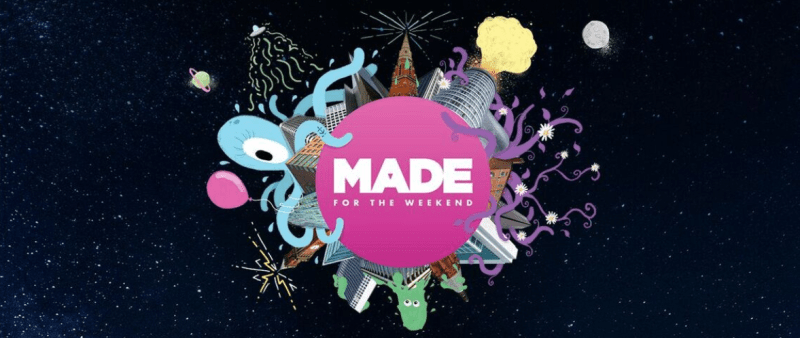 MADE for the weekend logo