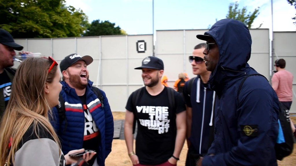 SaSaSaS Interview at MADE Festival with Harry Shotta