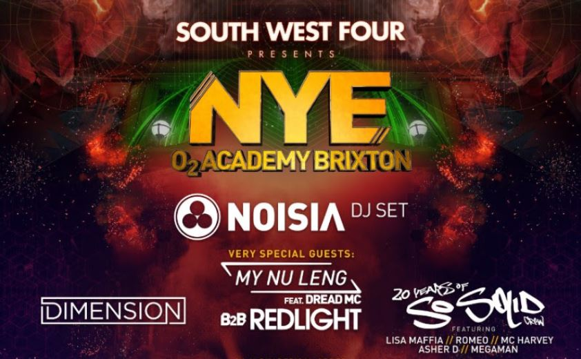 SW4 confirm line-up for Brixton New Year's Eve party