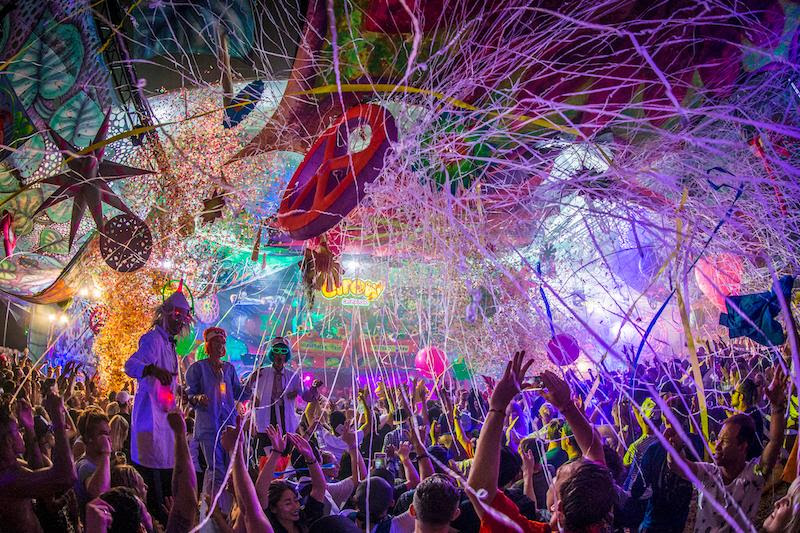 Line-up posters revealed for elrow's Psychrowdelic Trip at The Warehouse Project