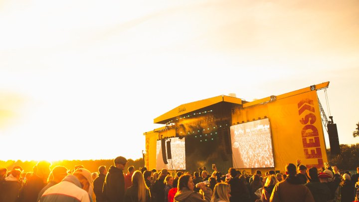 Leeds Festival Main Stage Crowd 2018
