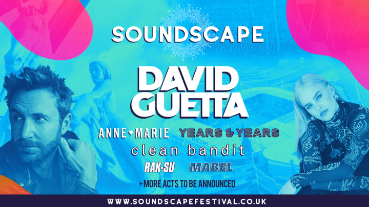 Soundscape line-up poster Coventry Ricoh Arena 2019