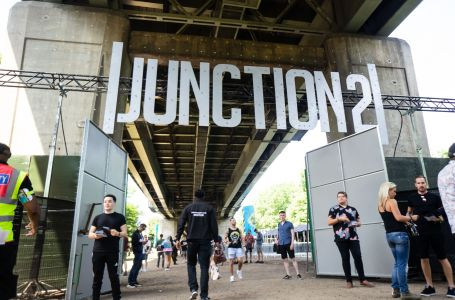 Junction 2 Festival Sign