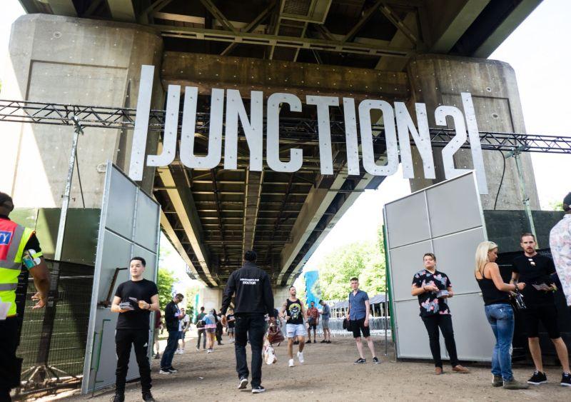 Junction 2 Festival Sign