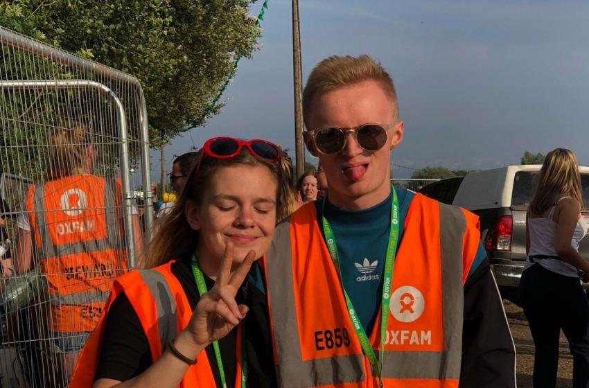 Oxfam open festival volunteering applications next week