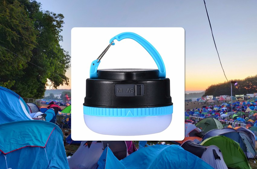 Win a USB rechargeable LED camping light for your tent!