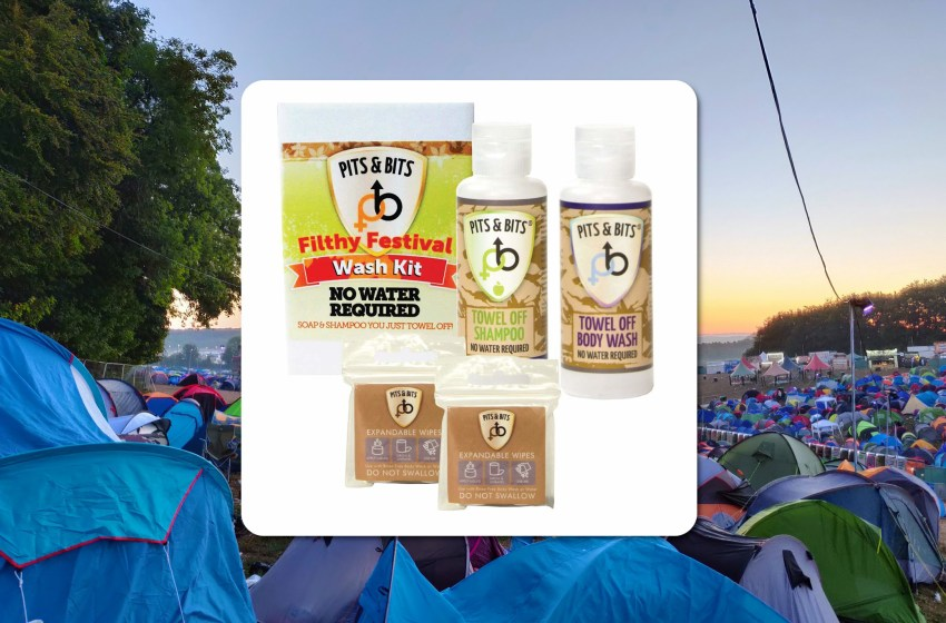 Win one of five Pits & Bits Filthy Festival Wash Kits!