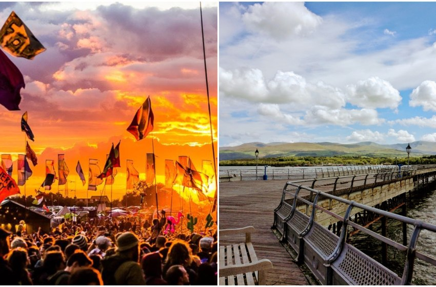 A 60-metre Victorian pier will be built at Glastonbury 2019