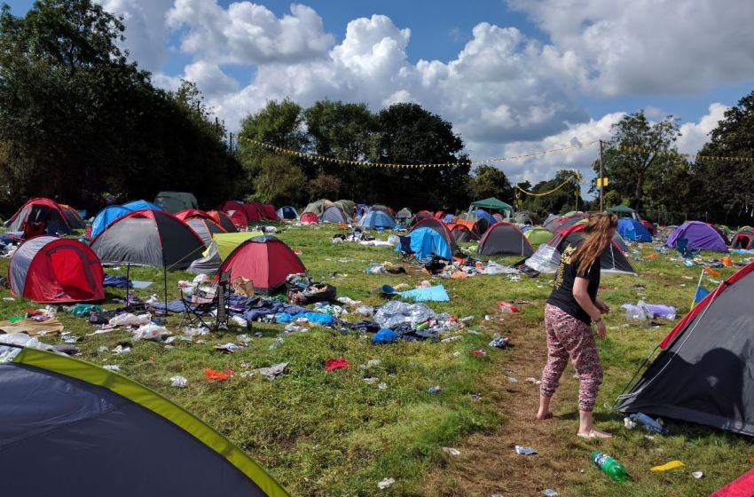 110,000 people sign petition asking retailers to stop selling 'single-use festival tents'