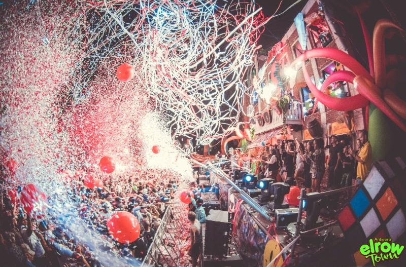 Line-up revealed for elrow Town Antwerp