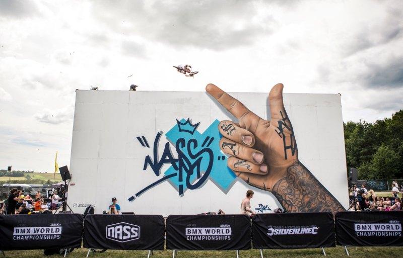NASS Finger Mural BMX