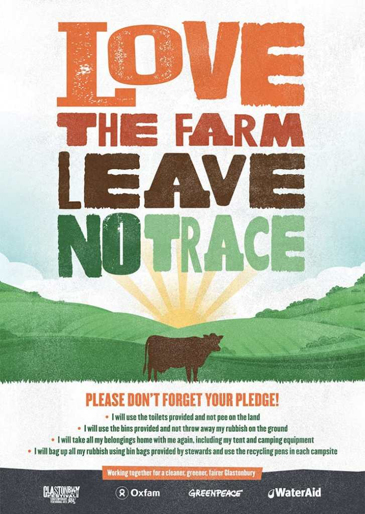 Love the Farm Leave No Trace Pledge Poster Cropped