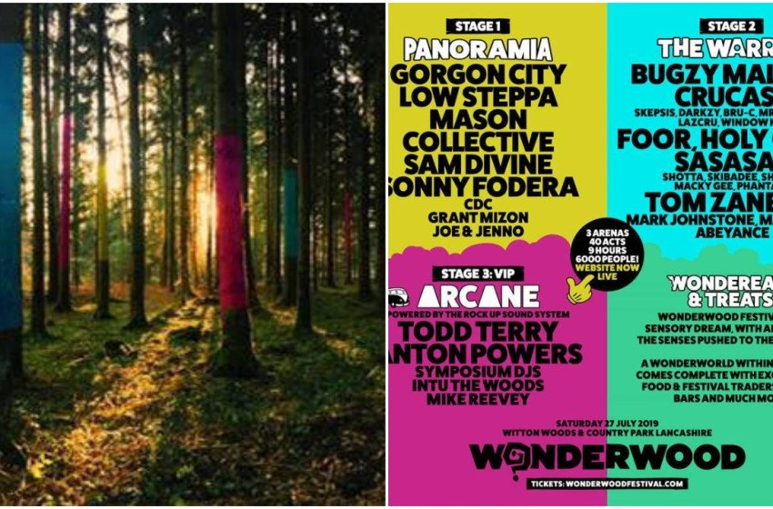 Win a pair of tickets to Wonderwood featuring Gorgon City and Bugzy Malone