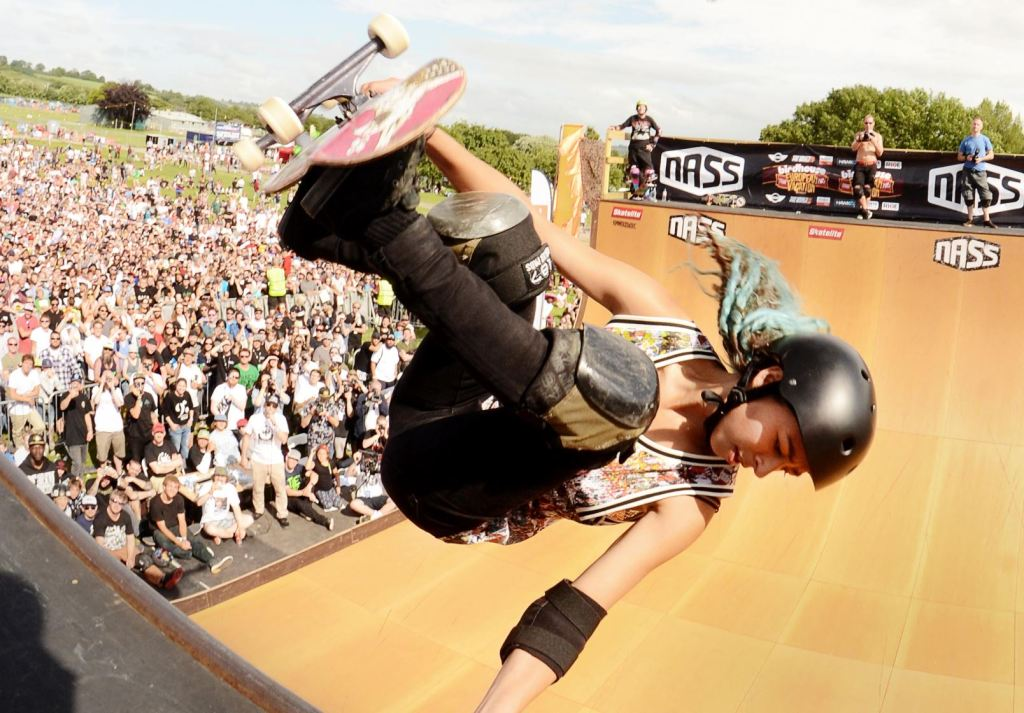 NASS skateboarding