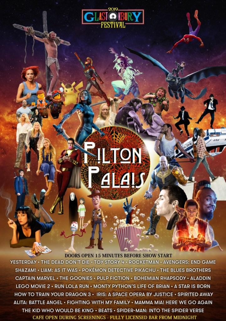 Glastonbury 2019 Pilton Palais Cinema Tent Line-up poster
