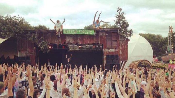 Greenpeace Stage Glastonbury