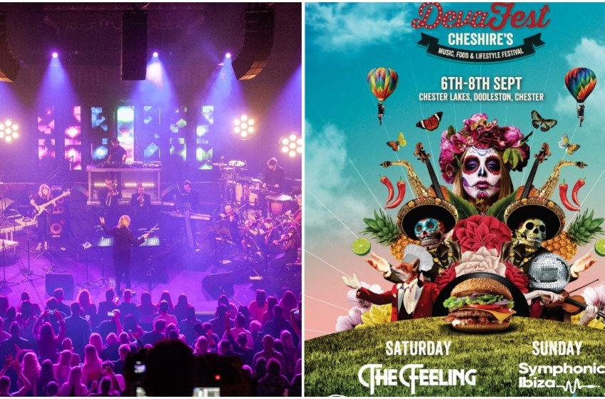 The Feeling and Symphonic Ibiza coming to Chester for Deva Fest