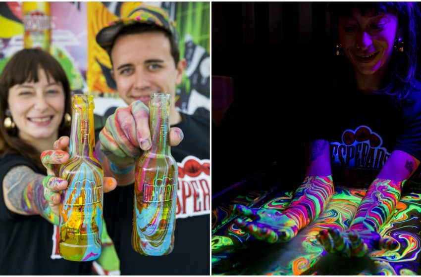 Free beer and UV body marbling coming to Boomtown, elrow, SW4 and We Are FSTVL