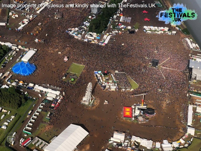 Download Festival 2019 Arena Aerial Photo