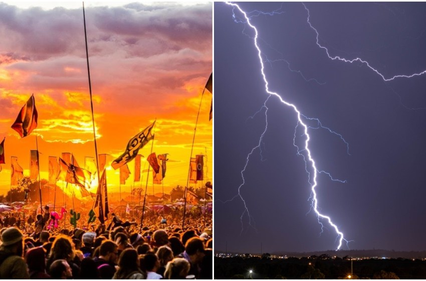 Met Office: Glastonbury thunderstorms 'likely' as hot and humid weather arrives