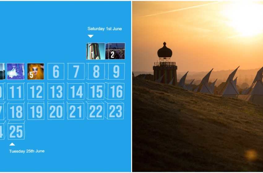 Count down the days with the Glastonbury Advent Calendar