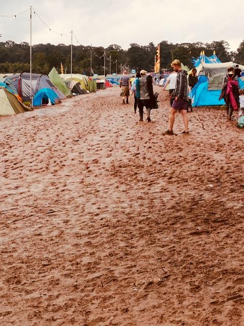 Festival Angels Kendal Calling Mud