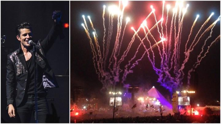 The Killers Loudest Glastonbury Pyramid Stage Fireworks