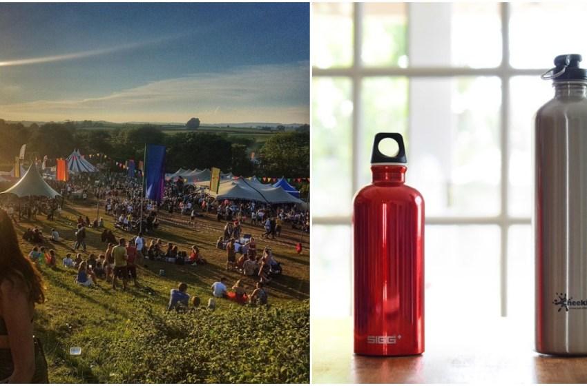 The best reusable water bottles for festivals
