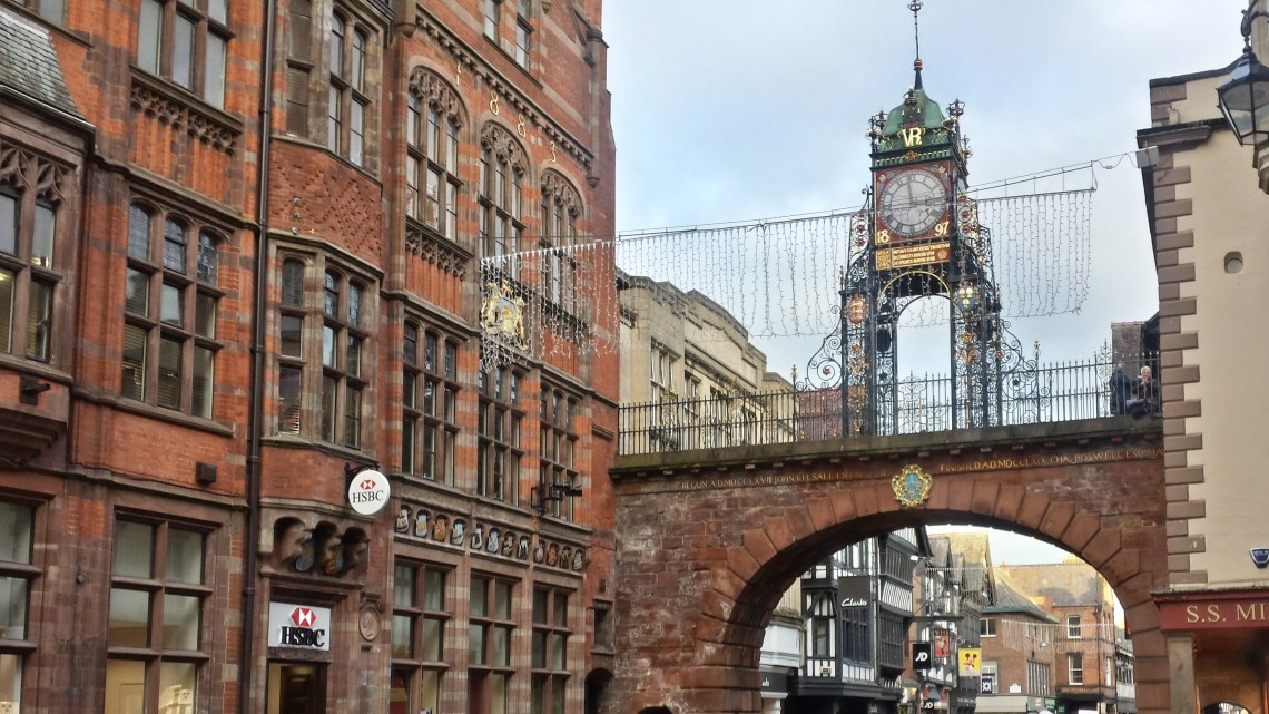 Chester Pride Parade Eastgate Clock